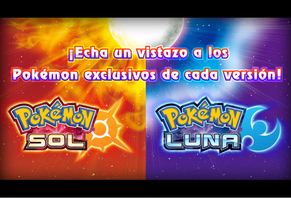 Pokémon Sol y Luna: Movimientos Z y pokémon exclusivos