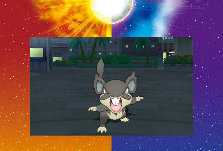 ¡Pokémon Sol y Luna tendrá un Rattata superior!