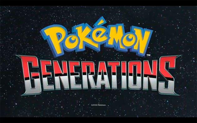 Pokémon Generaciones, la nueva miniserie de Pokémon