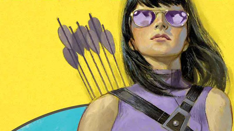 Kate Bishop protagonizará su propio cómic como Hawkeye