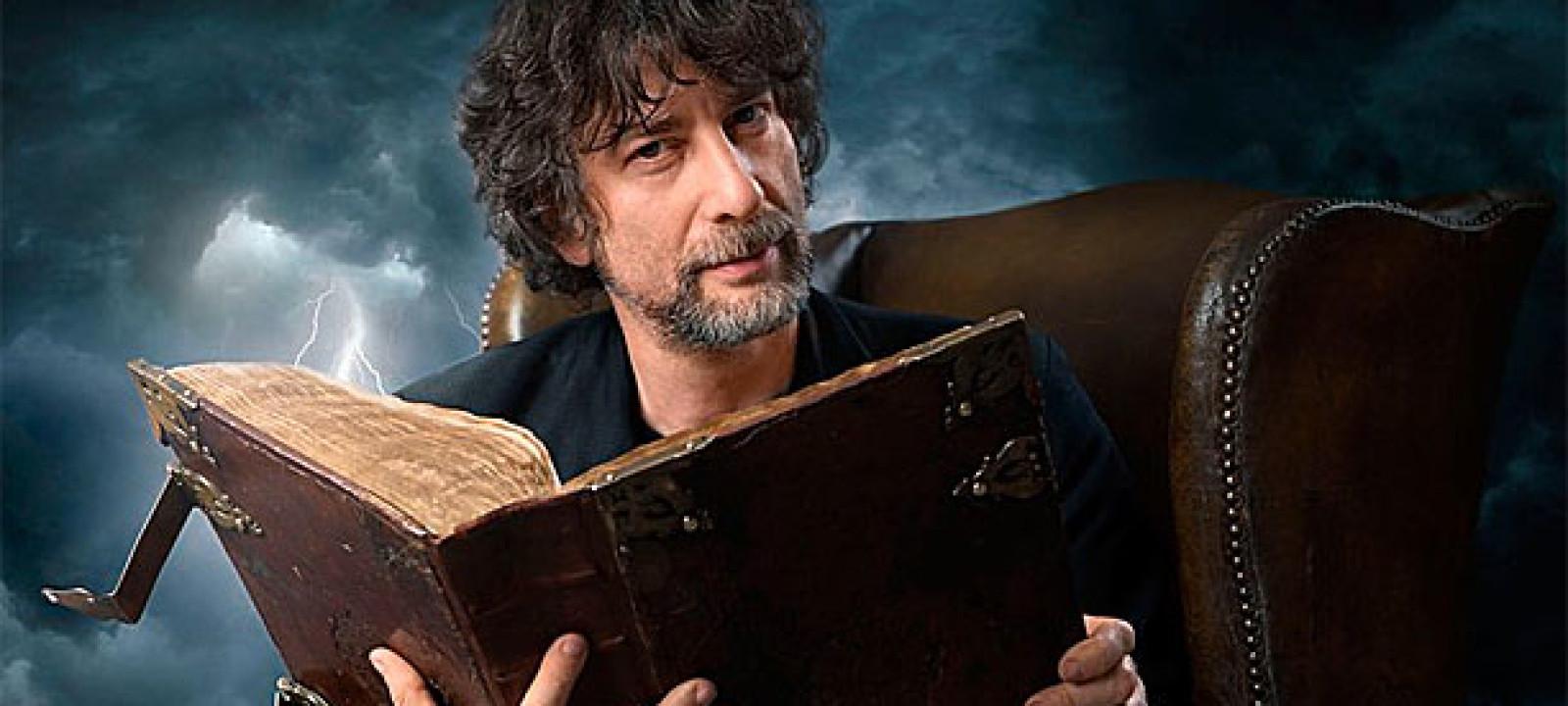 Neil Gaiman presenta la portada de su libro sobre mitología nórdica