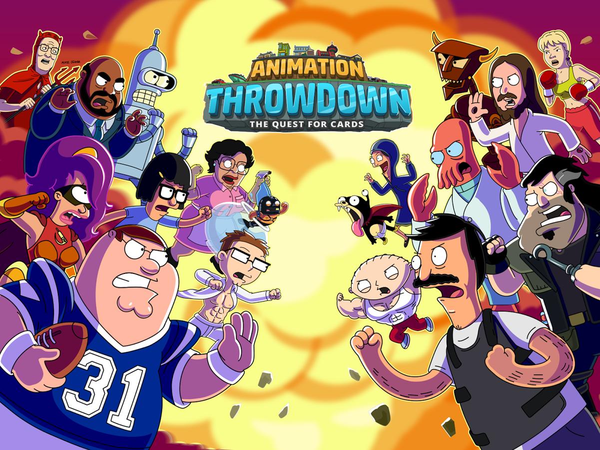 Animation Throwdown: el crossover que no sabías que querías