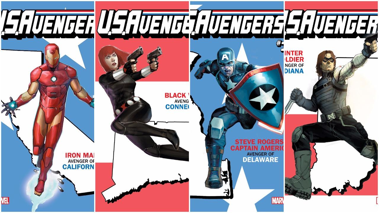 Marvel prepara 50 portadas alternativas para U.S.Avengers