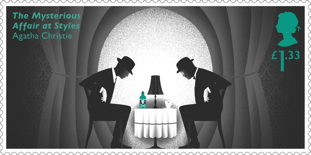 Los británicos tendrán estampillas en honor a Agatha Christie