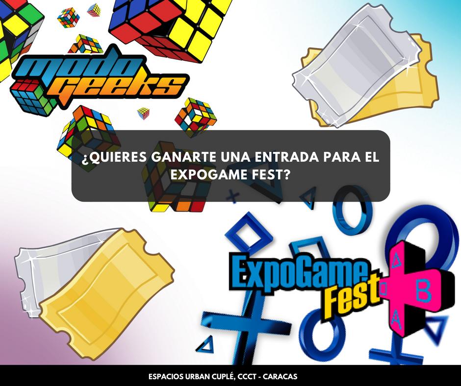 CONCURSO: ExpoGame FEST – Instagram