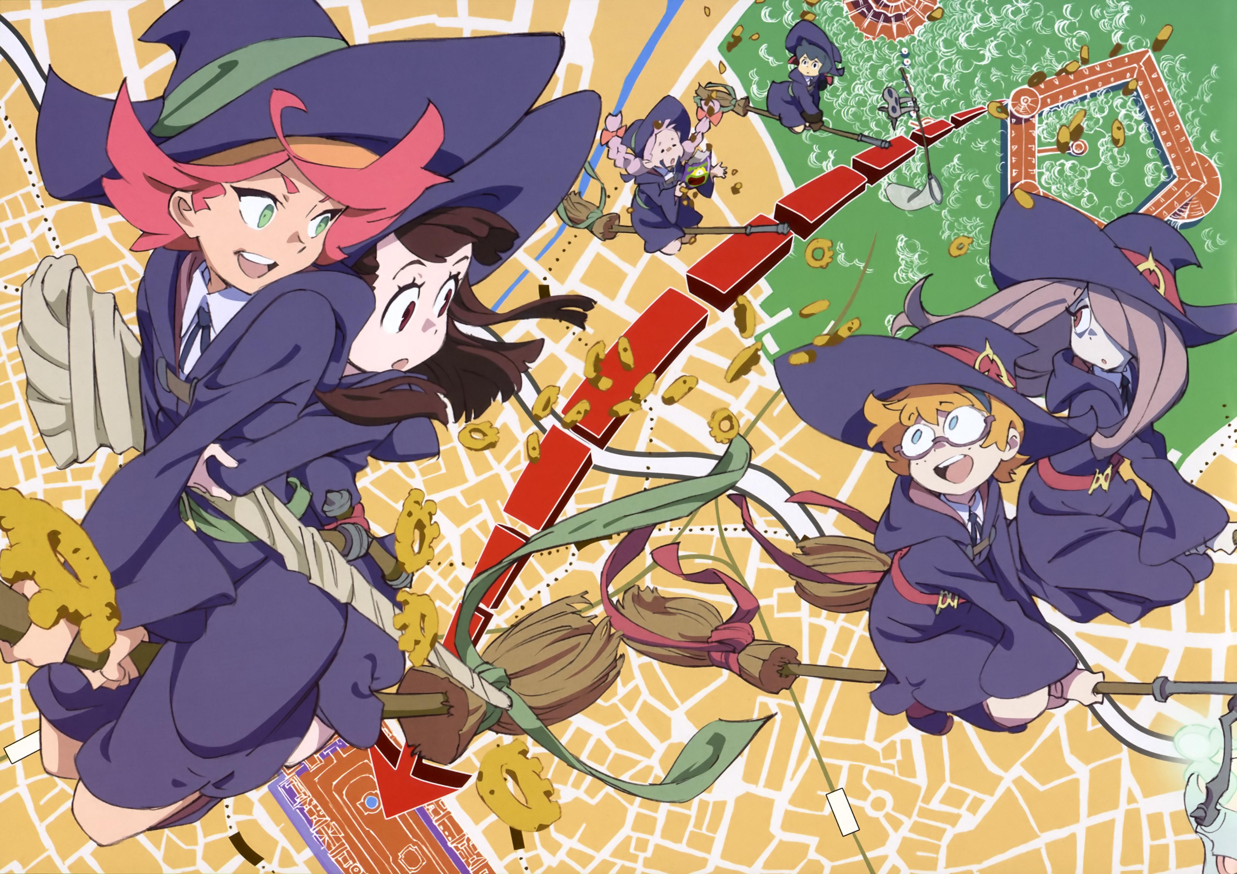 Descarga Little Witch Academia
