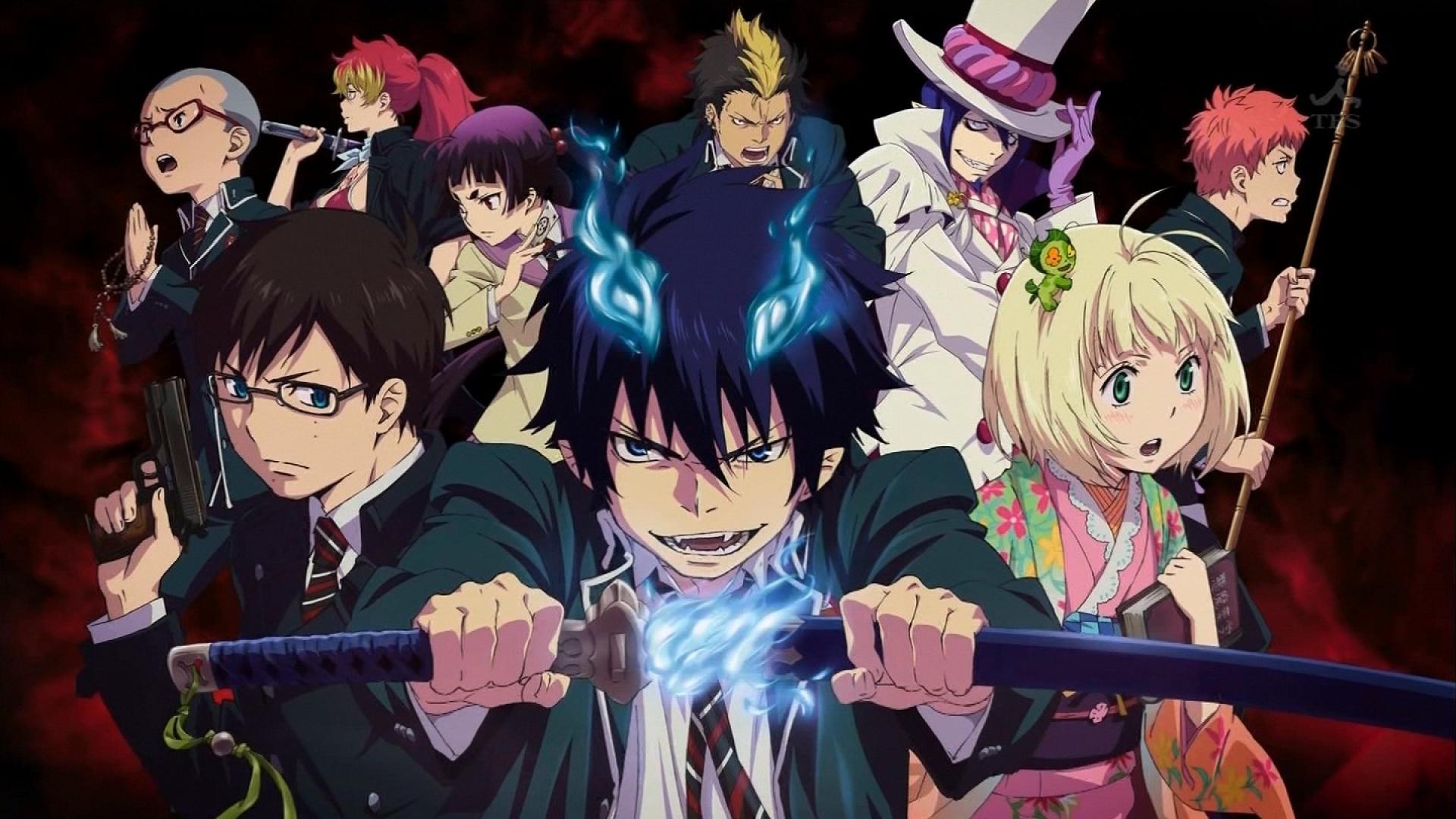Revelada la fecha de estreno y el elenco del nuevo anime de Ao no Exorcist