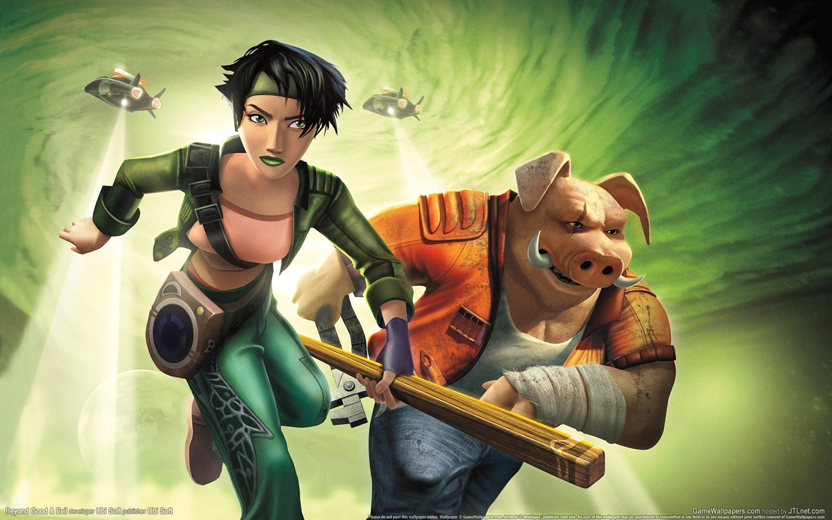 Ubisoft prepara Beyond Good & Evil 2