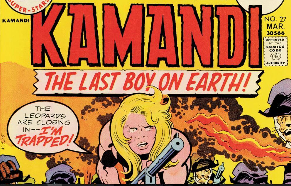 DC anuncia el Reto Kamandi en honor a Jack Kirby