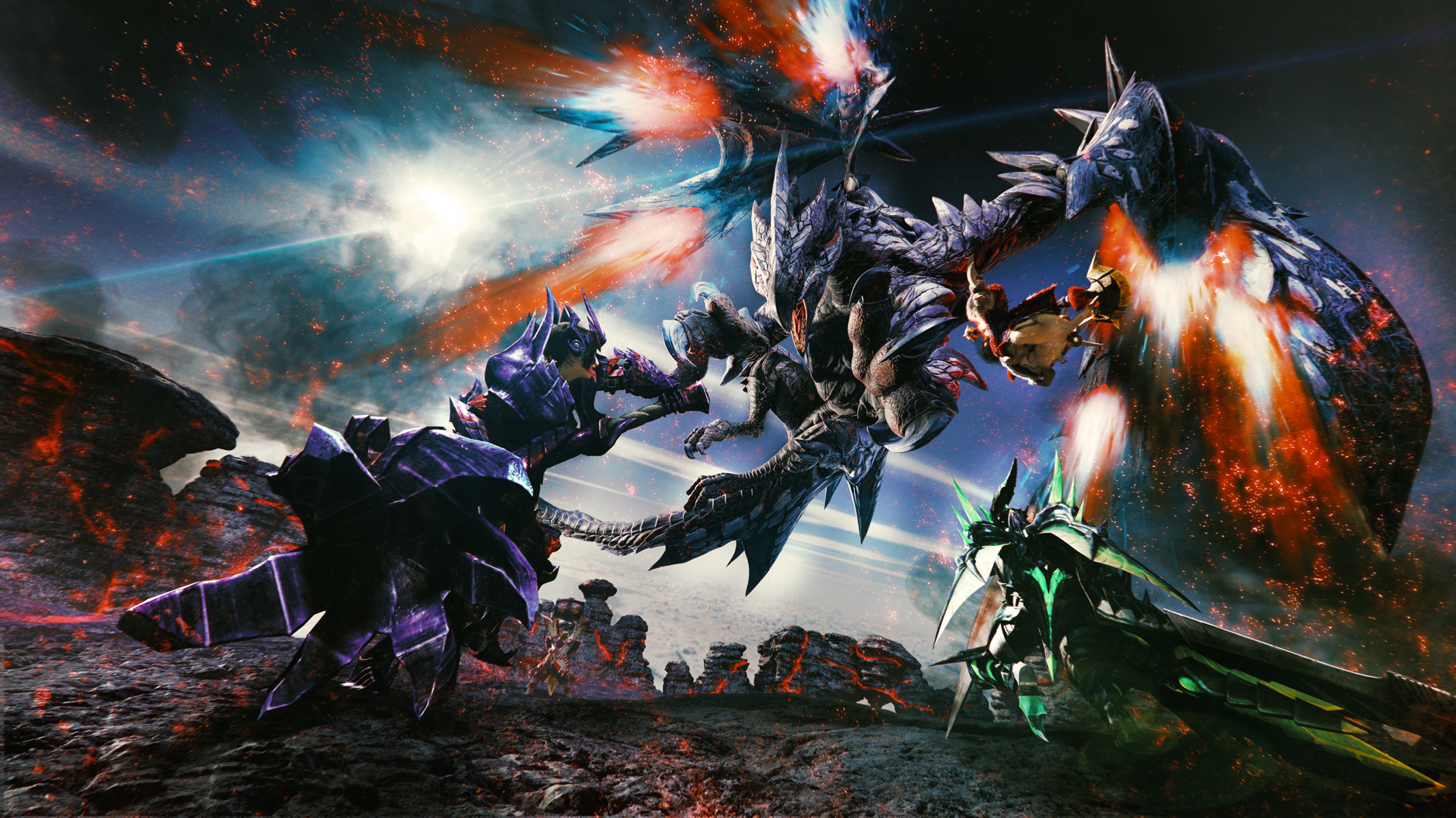 Nintendo presenta Monster Hunter XX para 3DS