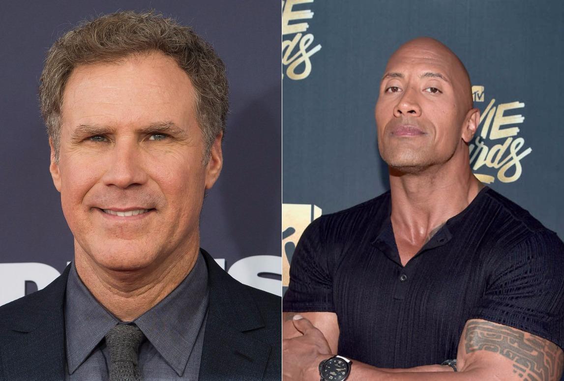La Roca y Will Ferrell preparan comedia de lucha libre