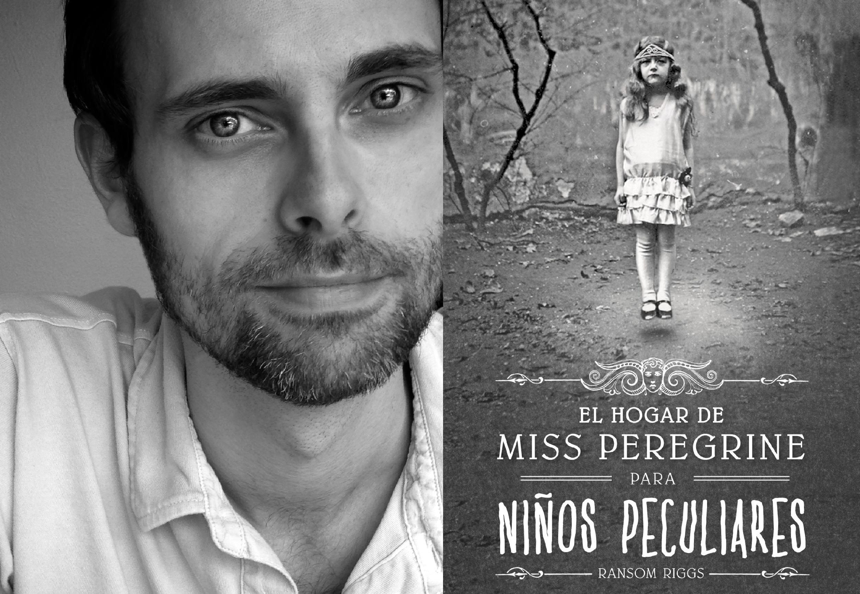 Ransom Riggs, autor de Miss Peregrine, prepara nueva trilogía de la serie