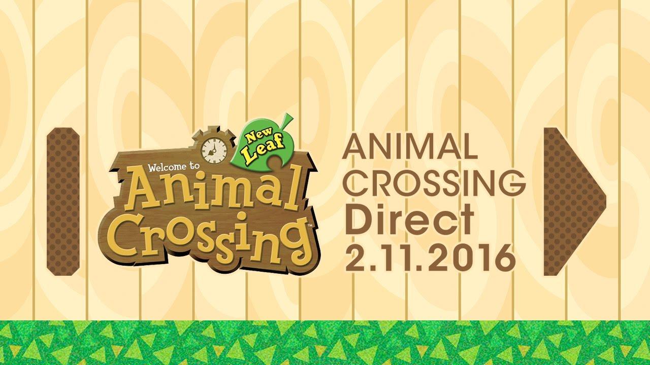 Animal Crossing: New Leaf presentó nueva actualización