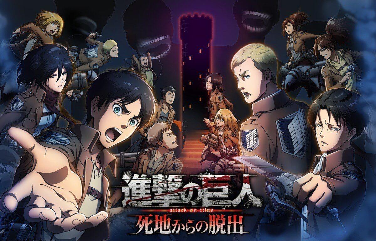 Attack on Titan tendrá nuevo juego para 3DS