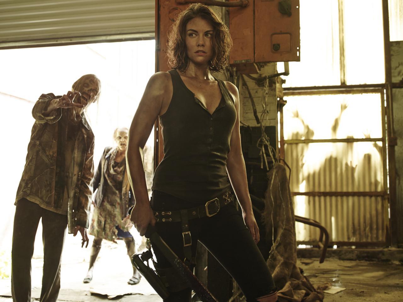Lauren Cohan habla sobre lo que viene para Maggie en The Walking Dead