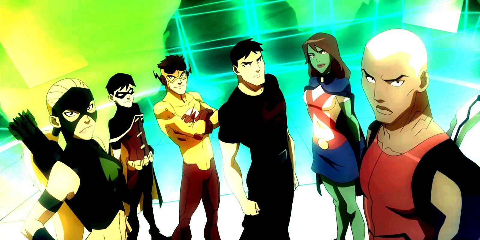 Anunciada la tercera temporada de Young Justice