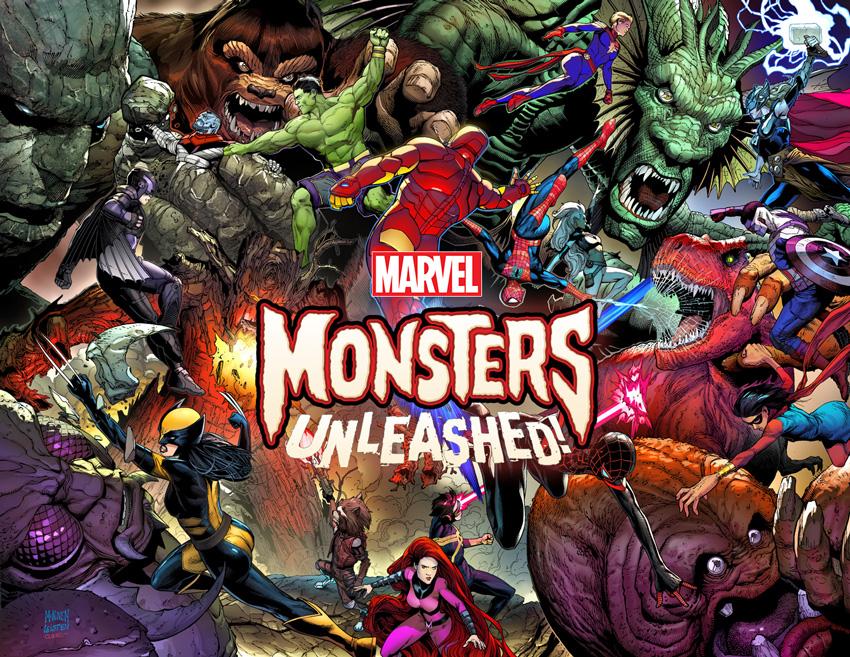Monsters Unleashed: Monstruos clásicos llegan a Marvel