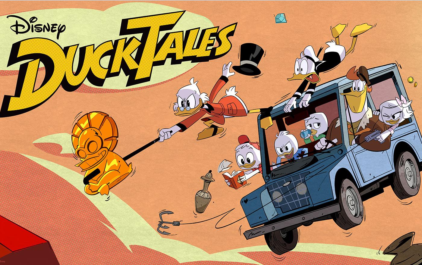 Nueva serie de DuckTales llegará en 2017