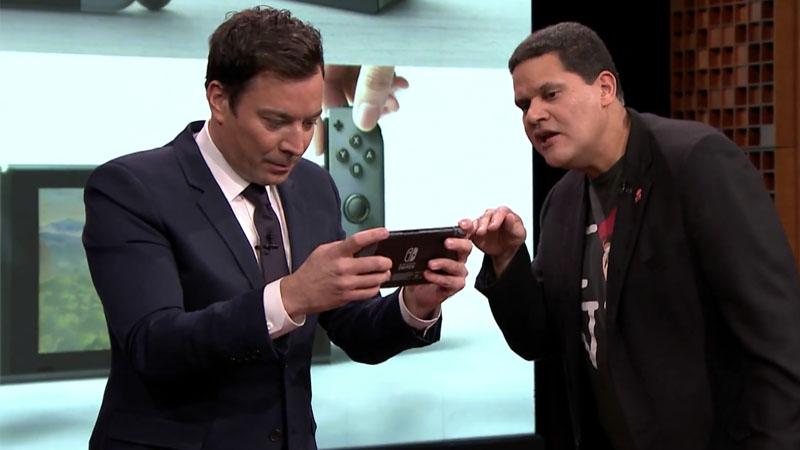 Nintendo Switch y Super Mario Run debutan con Jimmy Fallon