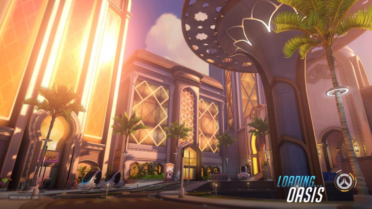 Te presentamos Oasis, el nuevo mapa de Overwatch