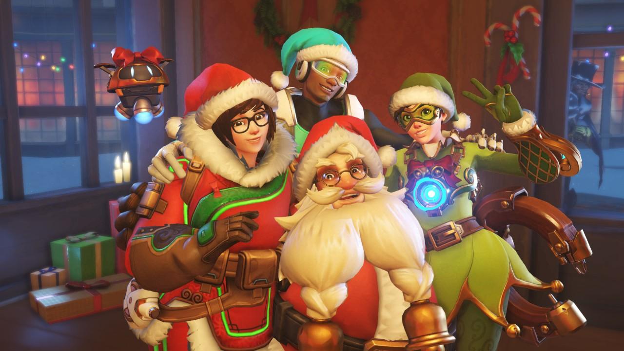 ¡La Navidad ya llegó a Overwatch con Winter Wonderland!
