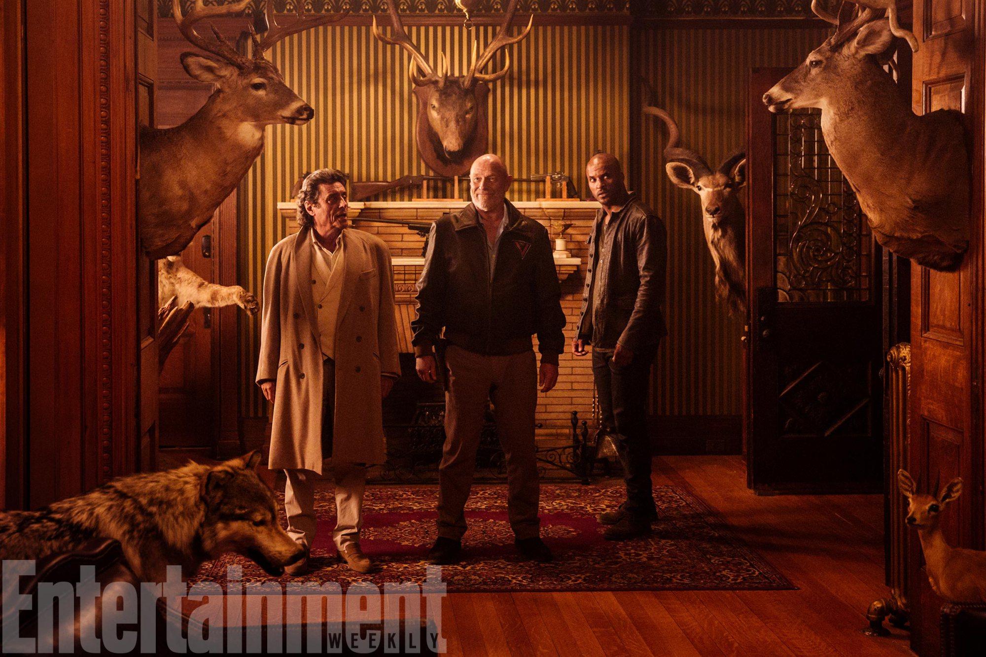 Neil Gaiman moderniza a Vulcano para American Gods