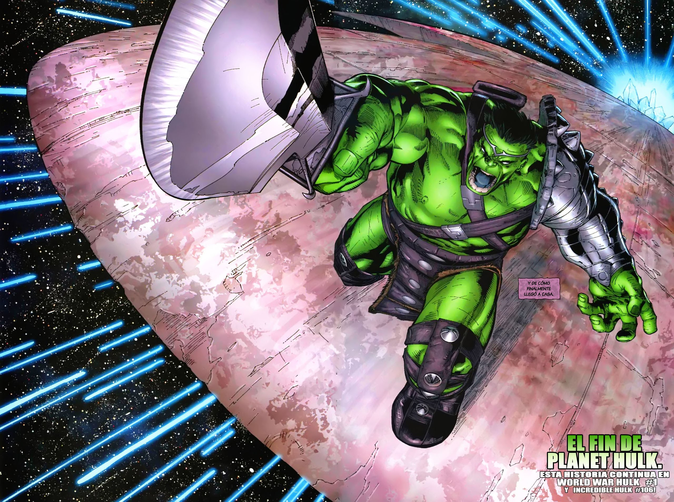 Thor: Ragnarok incluirá locaciones de Planet Hulk