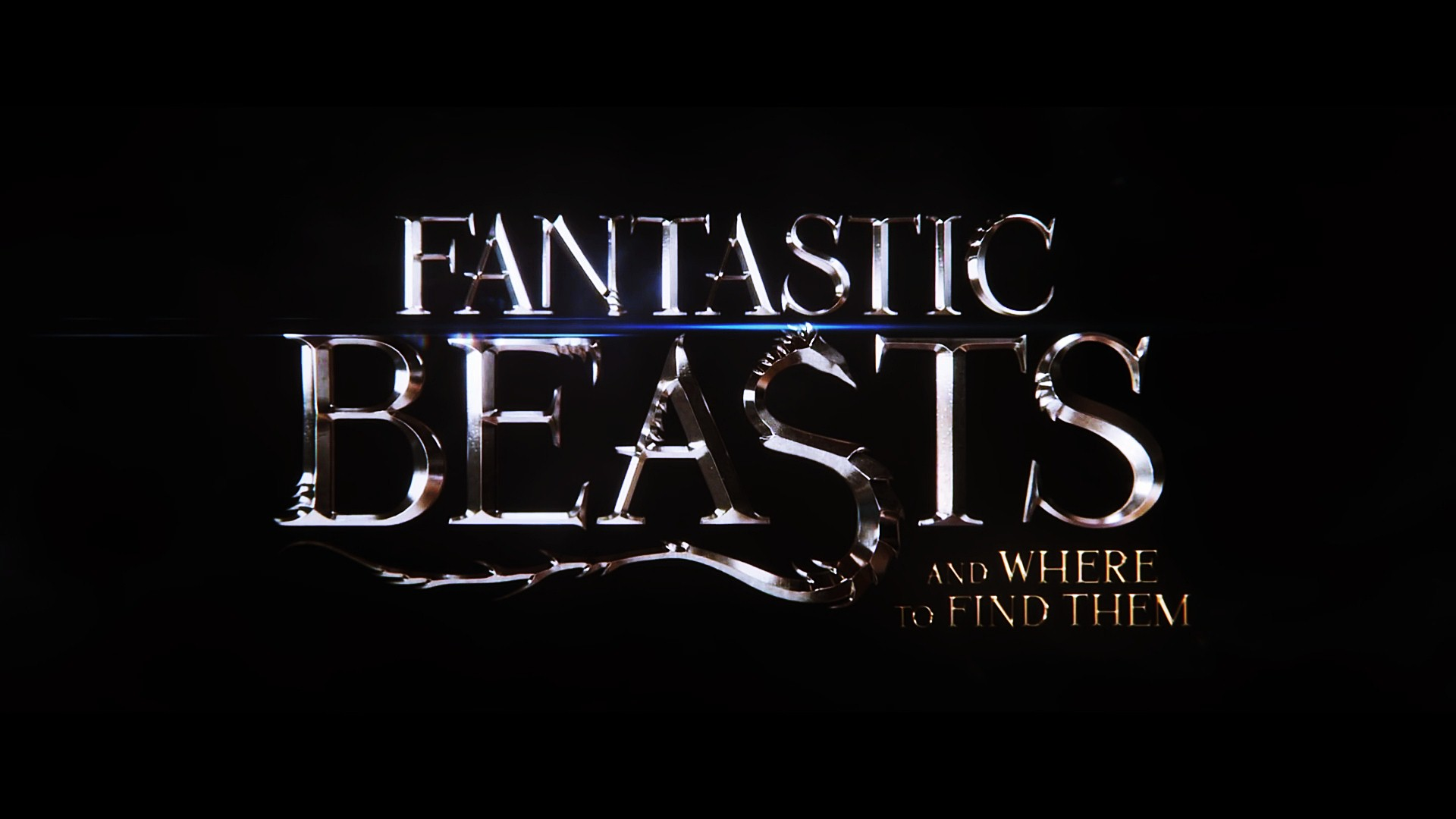 Fantastic Beasts And Where To Find Them Logo Wallpaper 00096