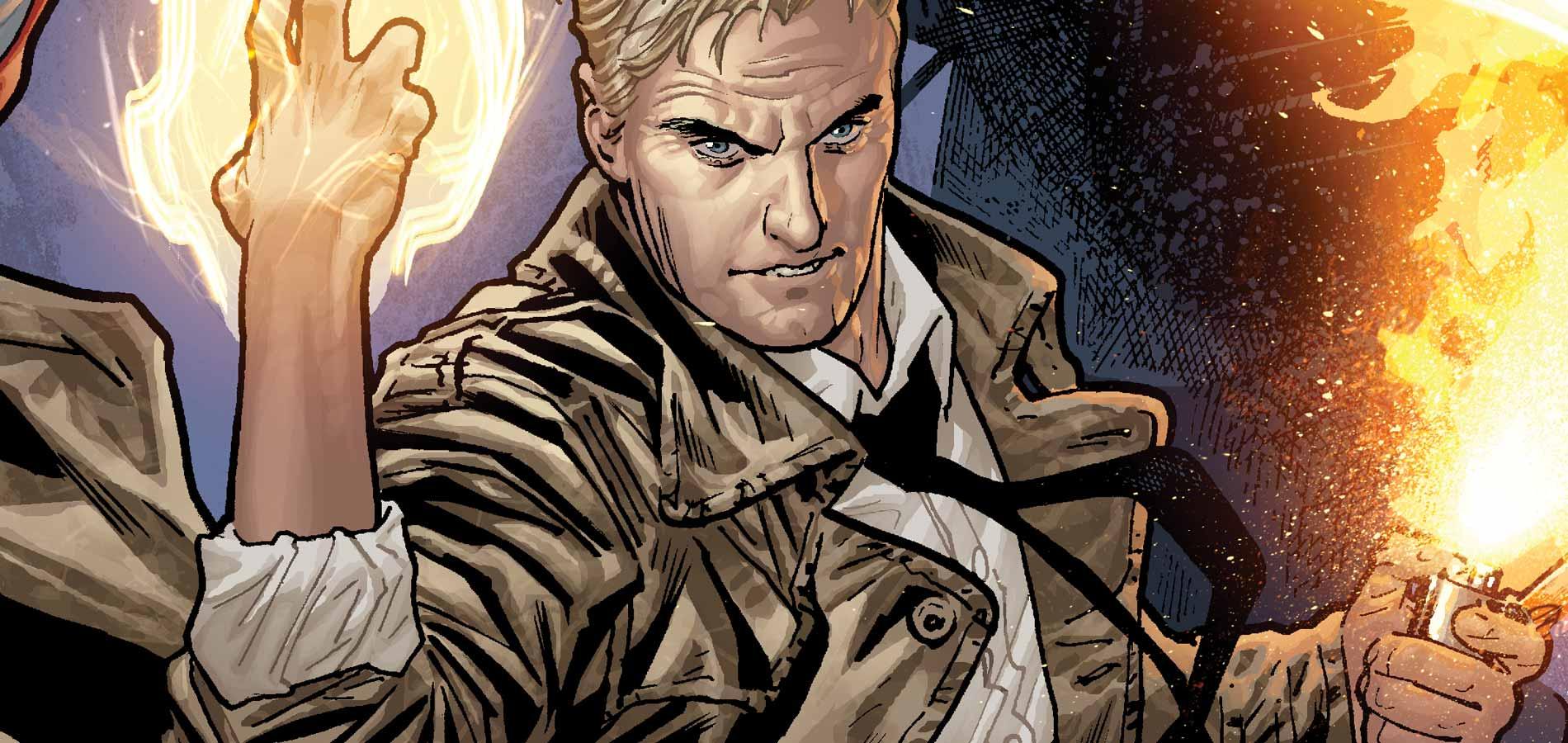 Constantine vuelve en CW Seed