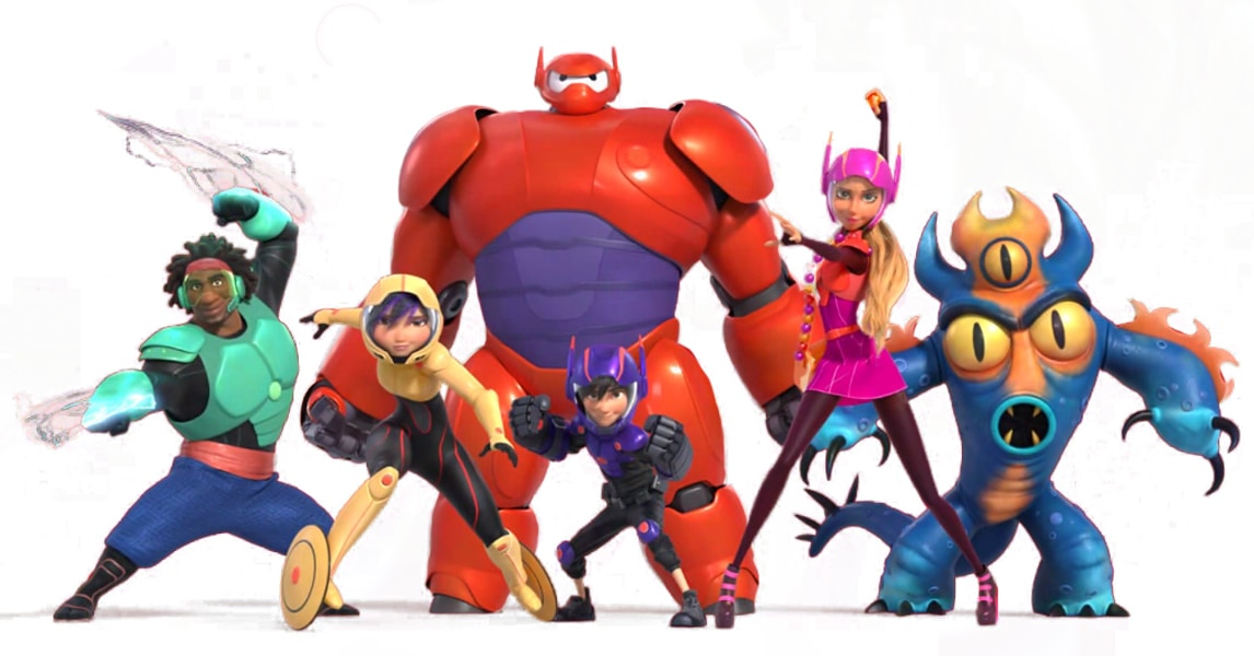 Primer trailer de la serie animada de Big Hero 6