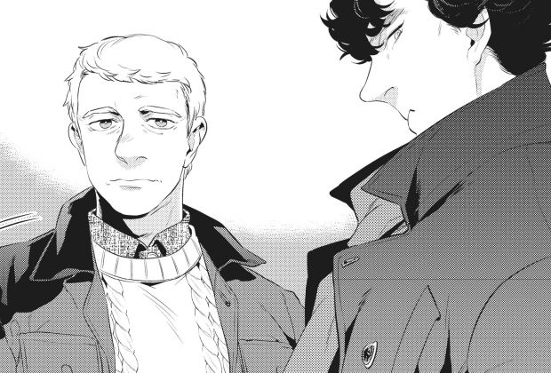 Nuevo manga de Sherlock anunciado