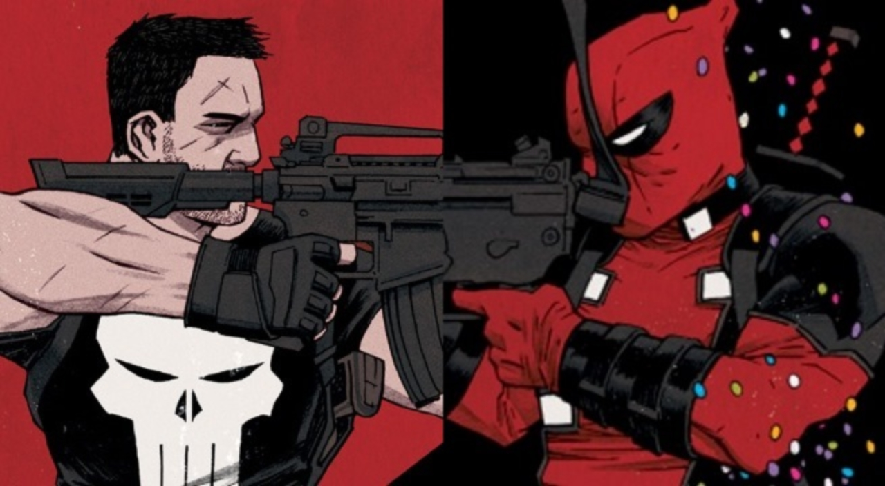 Se viene comic de Deadpool vs The Punisher