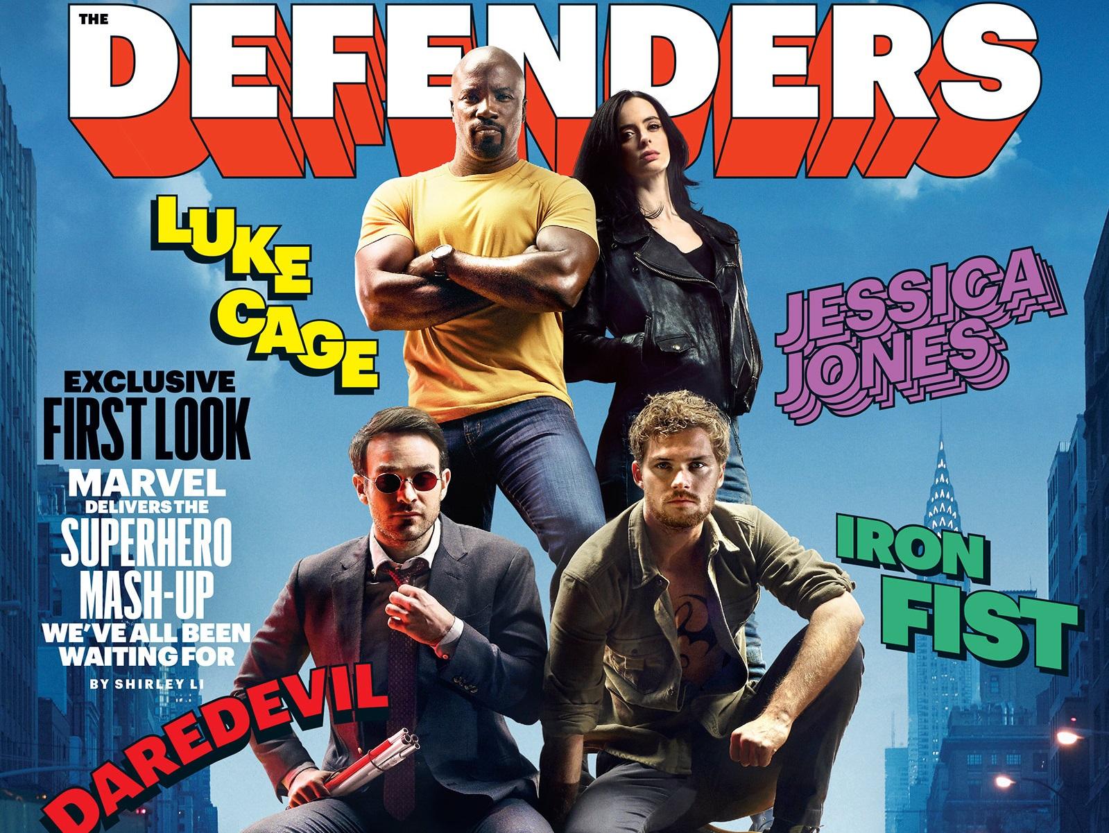 No te pierdas las primeras imágenes y detalles de The Defenders