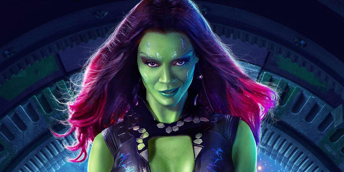Gamora aparecerá en Avengers: Infinity War