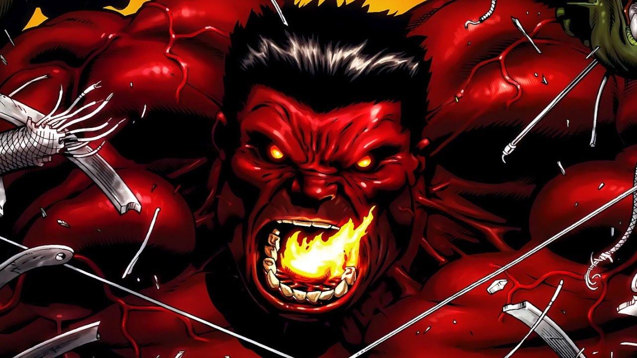 Un nuevo Red Hulk ha llegado a Marvel