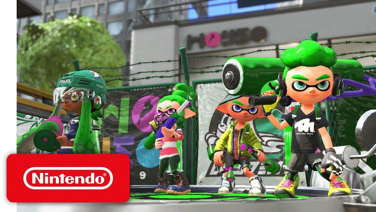 Nintendo Switch presenta Splatoon 2, Super Mario Odyssey y mucho más
