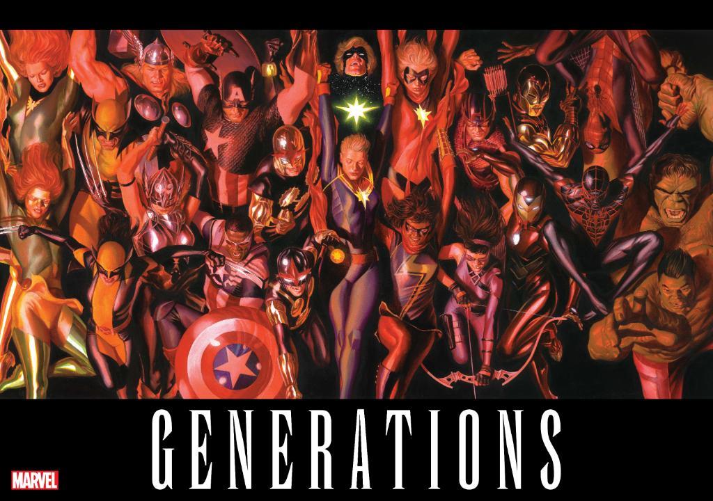 """Marvel anuncia """"Generations"""", su nuevo proyecto"""