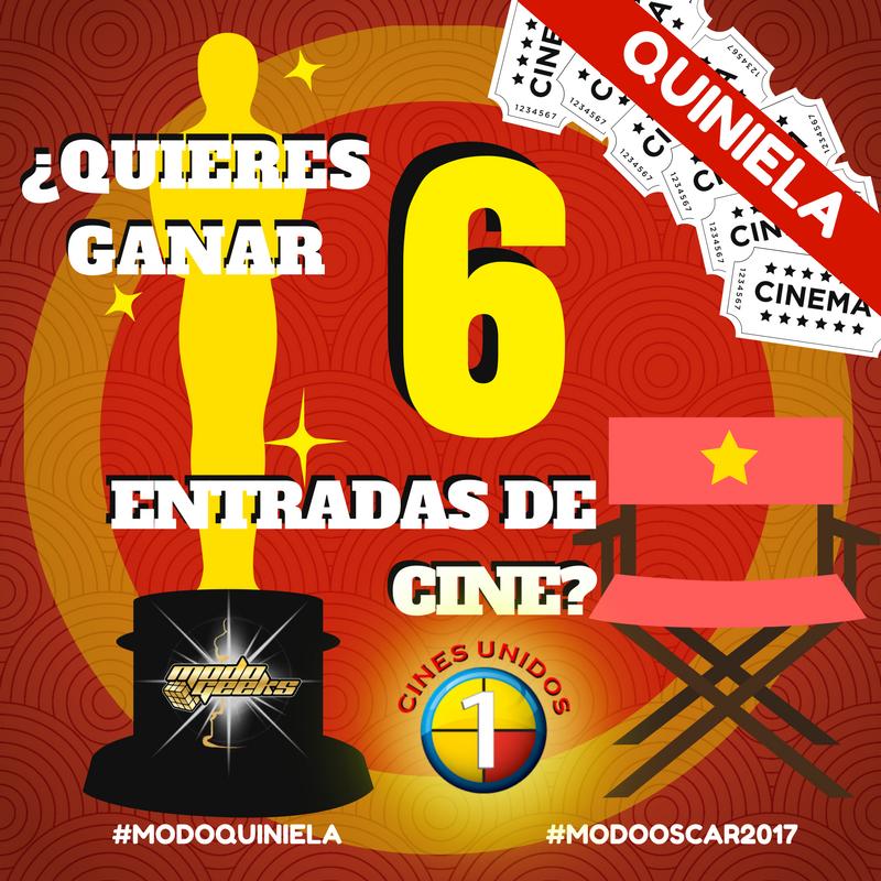 CONCURSO: Quiniela Premios Oscar 2017