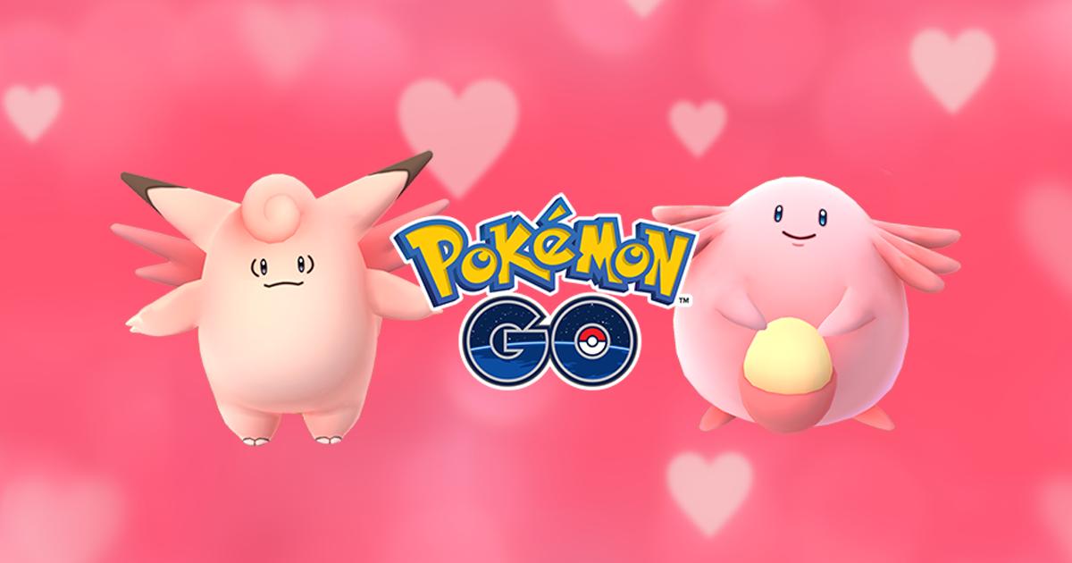¡Celebra San Valentin con Pokémon Go!