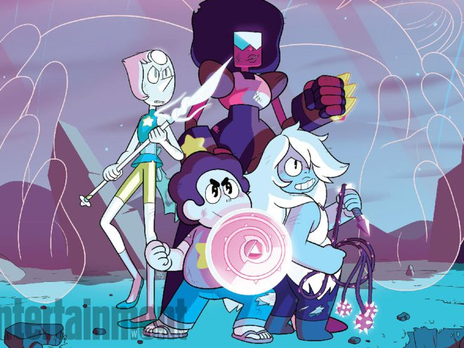 ¡Se aproxima nueva serie de cómics de Steven Universe!