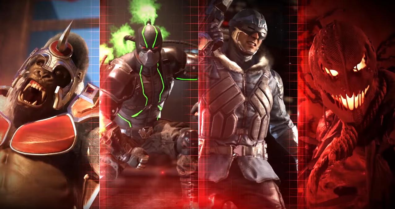 Injustice 2 nos presenta a héroes y villanos con nuevos trailers