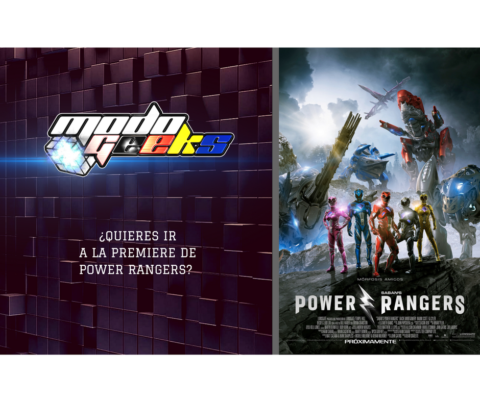 CONCURSO: Power Rangers – Instagram