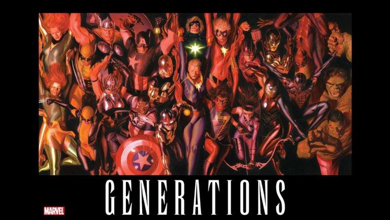 Generations trae de regreso a los héroes caídos de Marvel