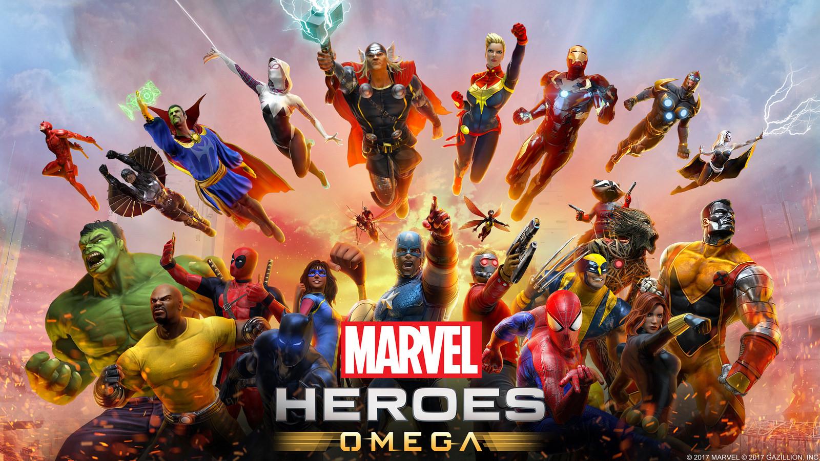 Marvel Heroes Omega llegará a las consolas esta primavera