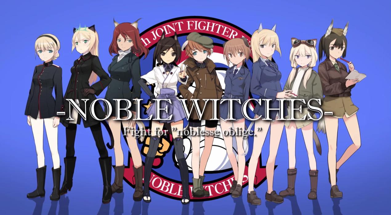 Anunciado nuevo manga de Strike Witches