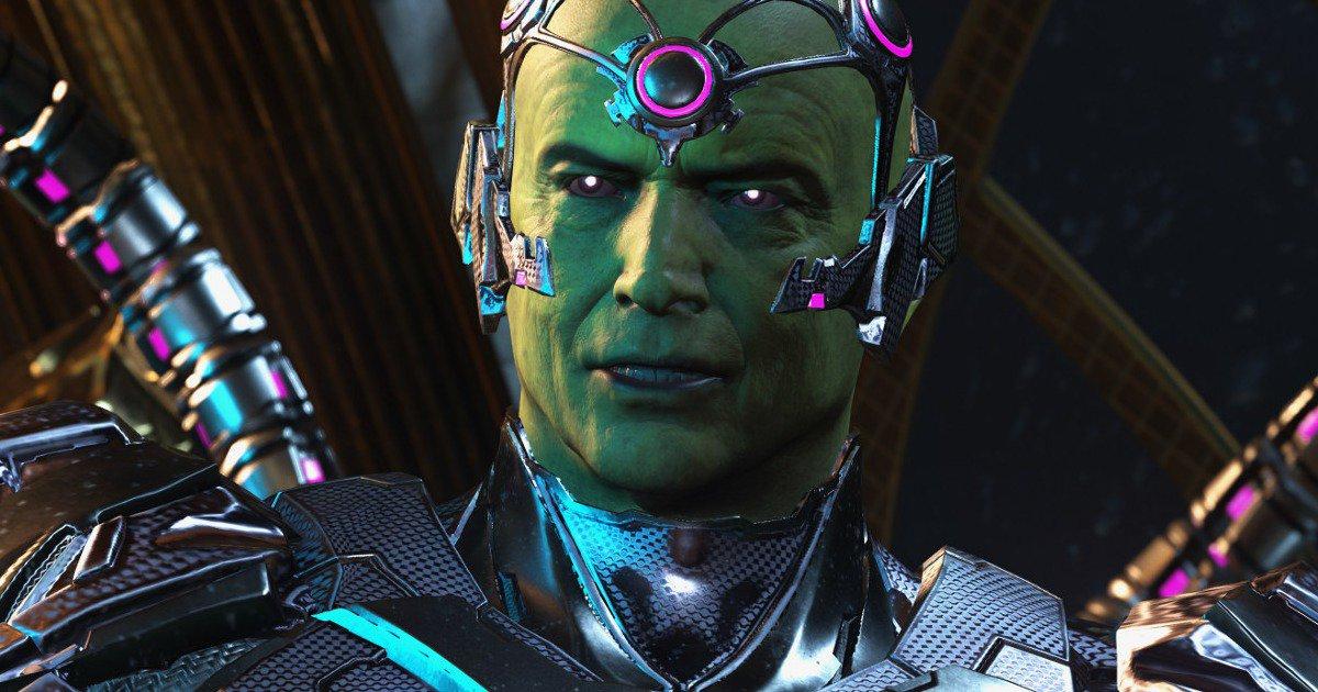 Brainiac será la amenaza principal en Injustice 2