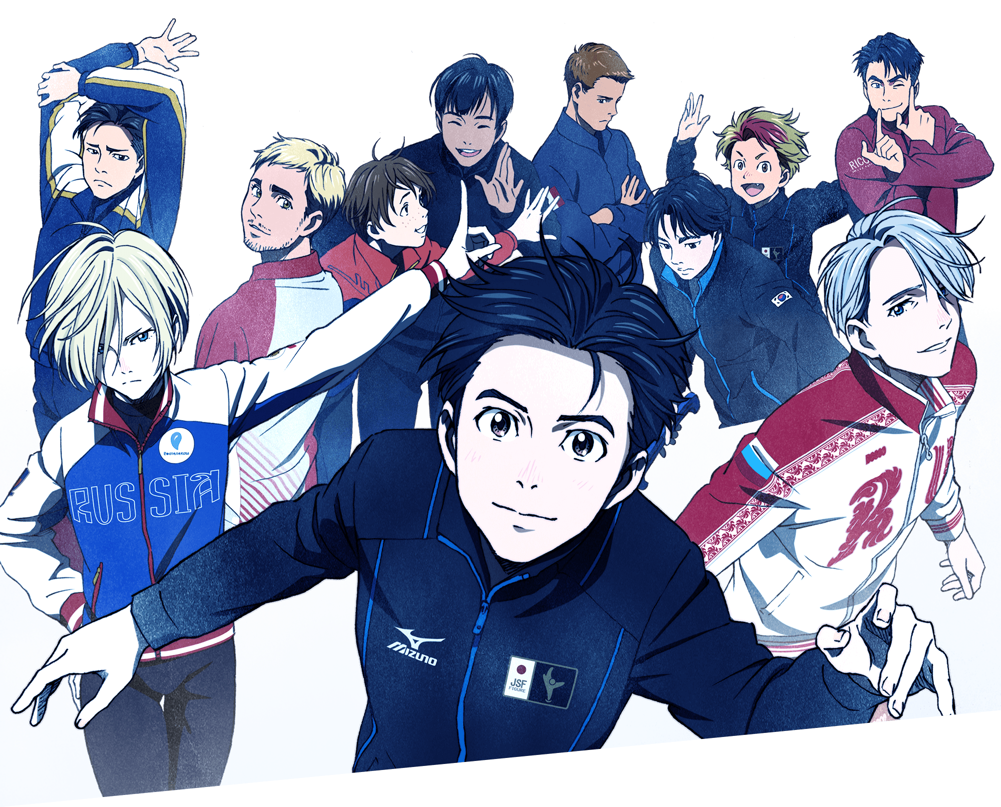 Anunciada película de Yuri!!! on Ice