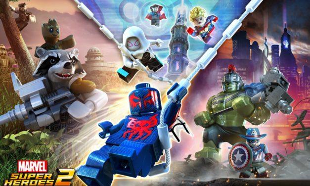 Lego y Marvel unidos de nuevo en LEGO Marvel Super Heroes 2