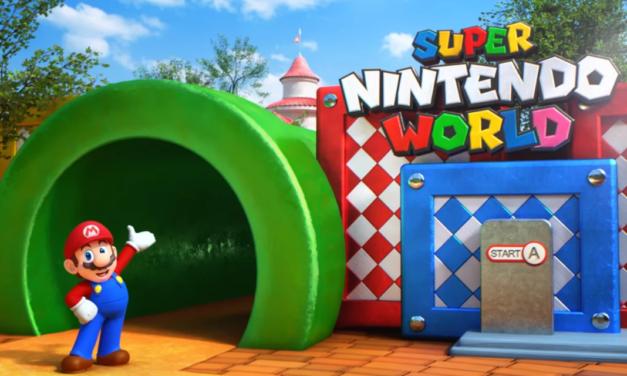 El parque temático de Nintendo está cada vez más cerca