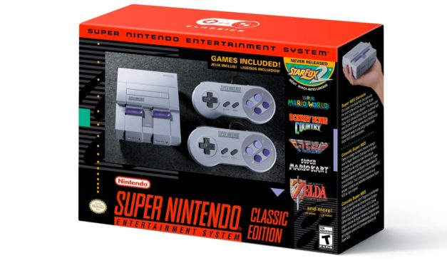 Nintendo anuncia el SNES Classic Edition